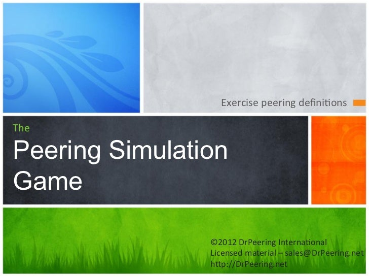 04a peering simulation-game
