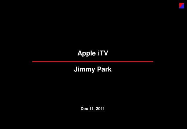 Apple iTV - Korean