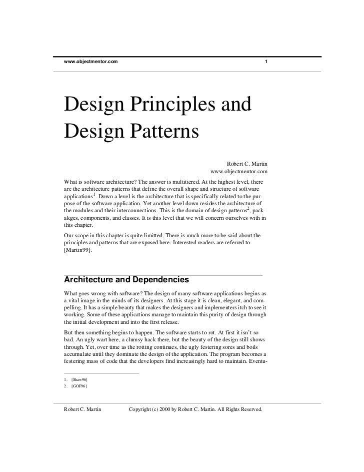 www.objectmentor.com                                                                       1Design Principles andDesign Pa...