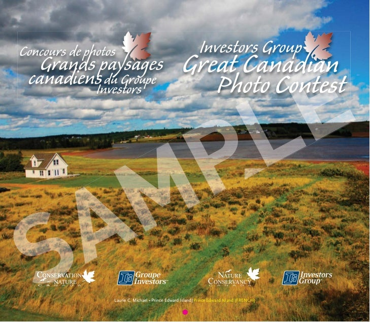 Investors Group Great Canadian Photo Contest 2012