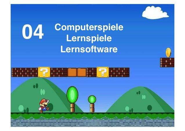 04!  Computerspiele! Lernspiele! Lernsoftware!