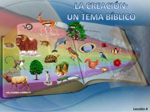 04 creacion tema biblico