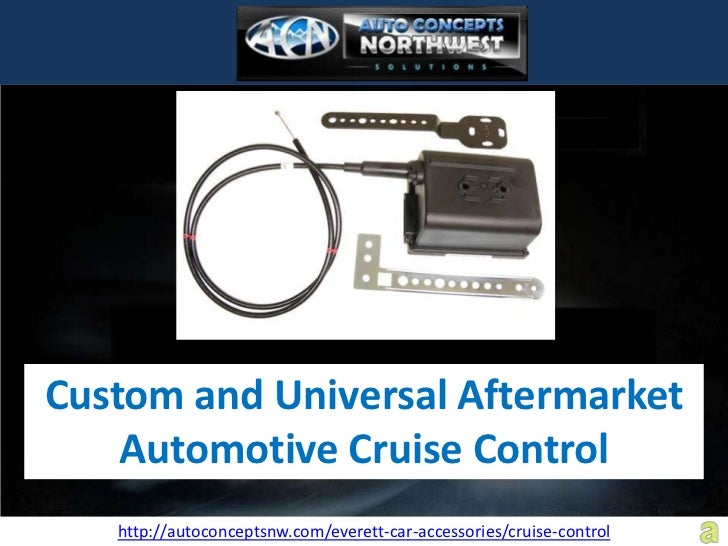 ACN Everett Helps Cruise Along in Your Car with Cruise Control