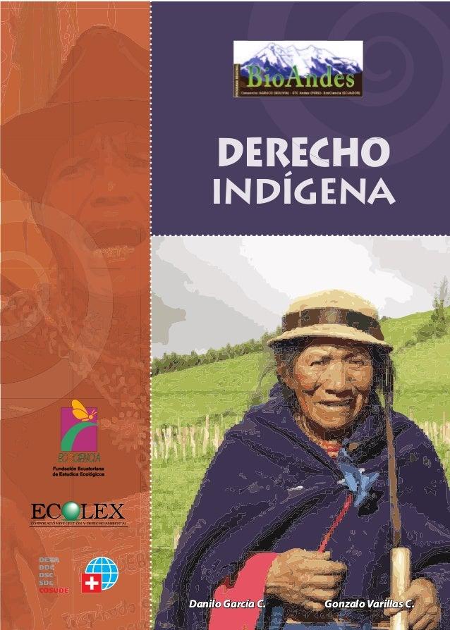 DERECHO INDÍGENA EN ECUADOR