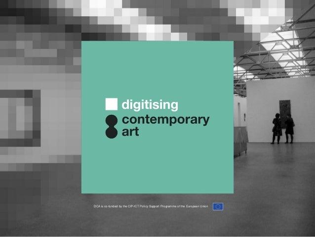 04 digitising contemporary art
