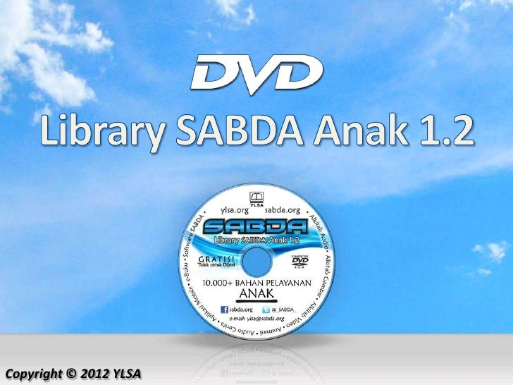 DVD Library SABDA Anak 1.2