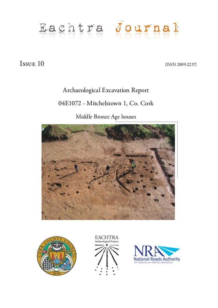 Archaeological Report - Mitchelstown 1, Co. Cork (Ireland)