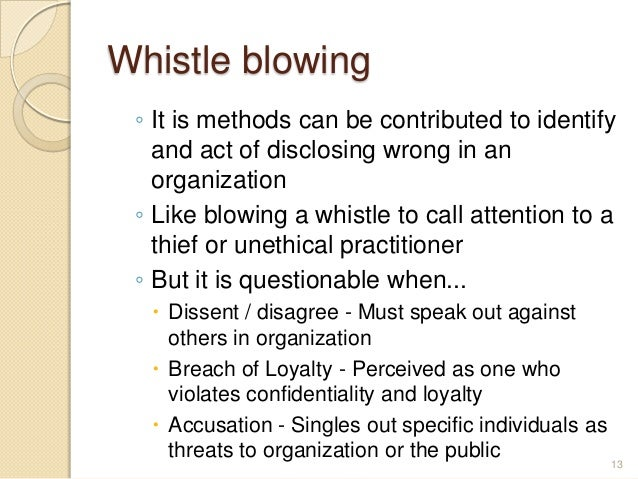 boatright and whistle blowing