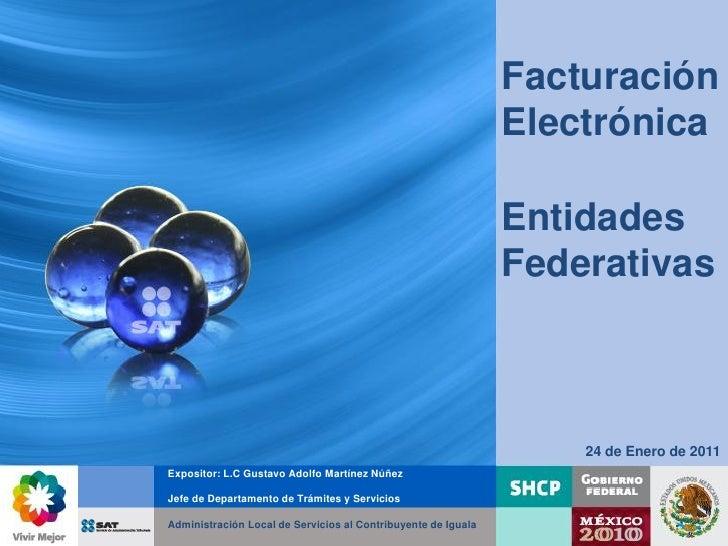 Facturación                                                               Electrónica                                     ...