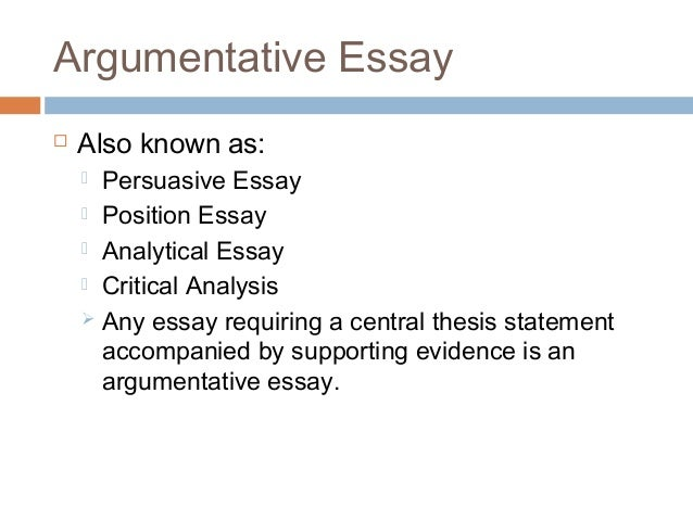 Persuasive Essay Examples College Level
