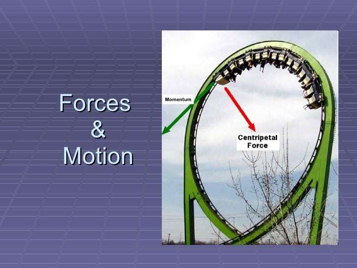 Forces  &  Motion Momentum