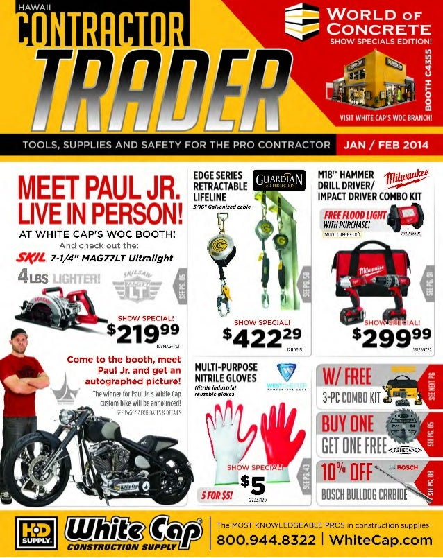 TOOLS, SUPPLIES AND SAFETY FOR THE PRO CONTRACTOR  MEET PAUL JR.  LIVE IN PERSON! woe  M18™ HAMMER 1fliJlv~ DRILL DRIVER/ ...