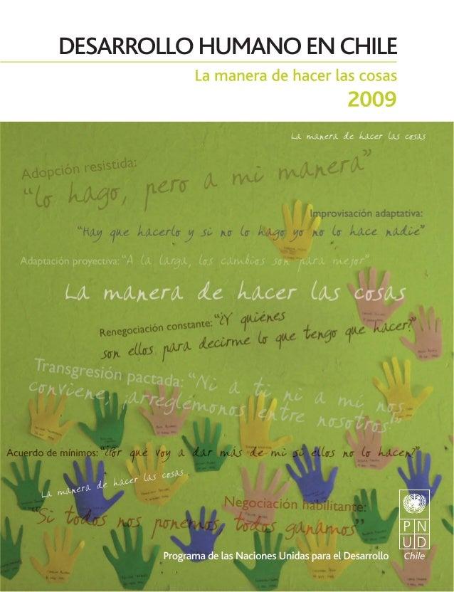 Desarrollo Humano en Chile