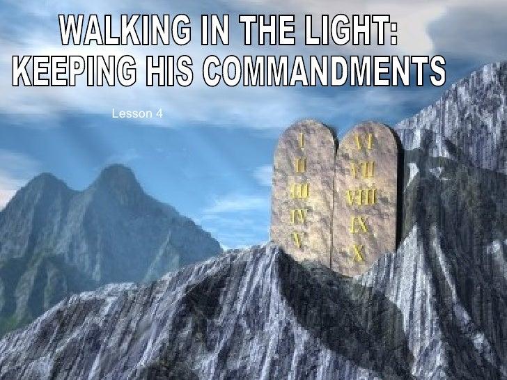 04 Keeping Commandments