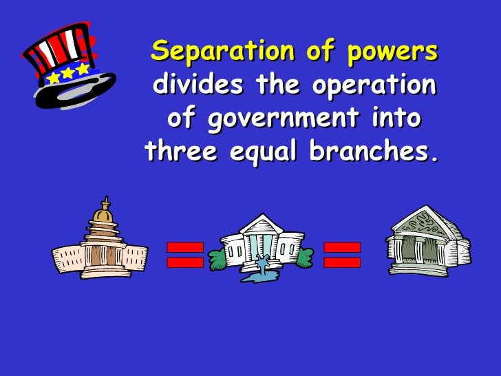 Separation of Powers and A.n. Island