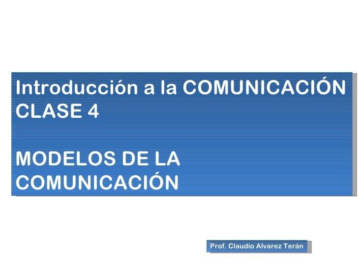 04 modelos de la comunicación