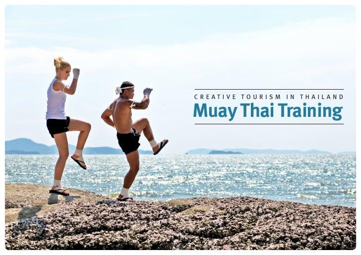 Creative Tourism in ThailandMuay Thai Training