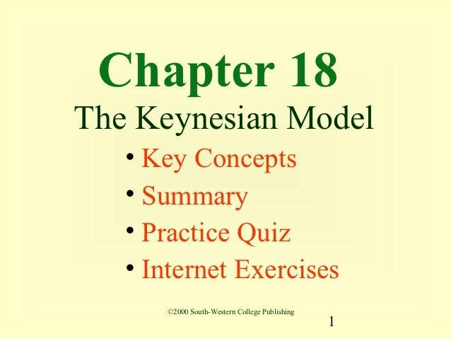04 the keynesian model