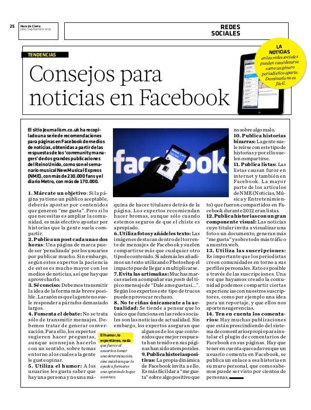 Tips para facebook