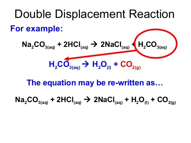the neutralization reaction as a double displacement reaction essay A neutralization reaction produces a salt and water  and silver nitrate are mixed a double displacement reaction will  double-displacement reaction essay .
