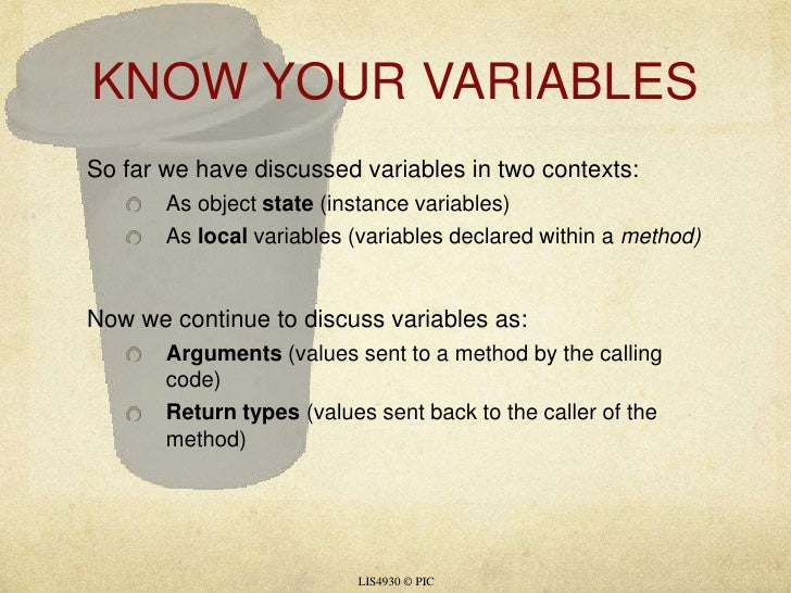 04 variables