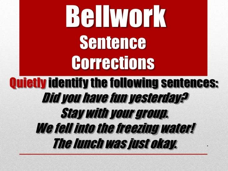 05 03-2012 sentence types lesson 3