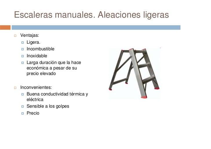 Prevenci n de riesgos laborales seguridad en escaleras for Escaleras ligeras