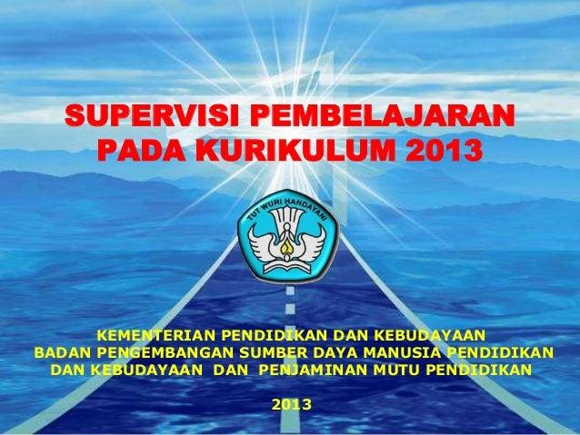 05. ppt 5.1. supervisi pembelajaran