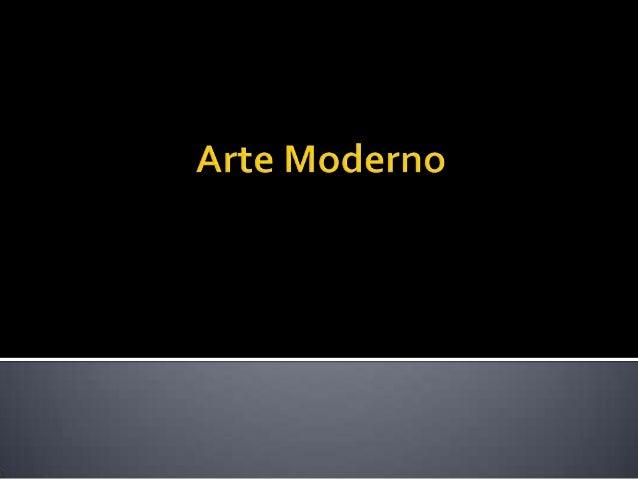 05. arte moderno