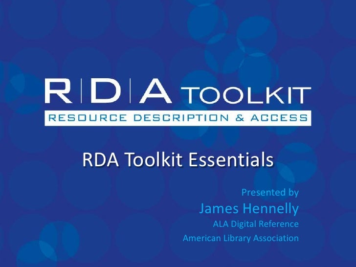 05.16 rda toolkit essentials