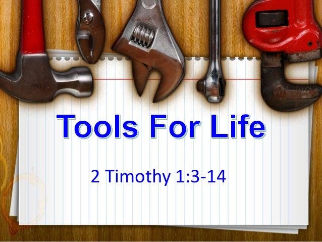2 Timothy 1:3-14