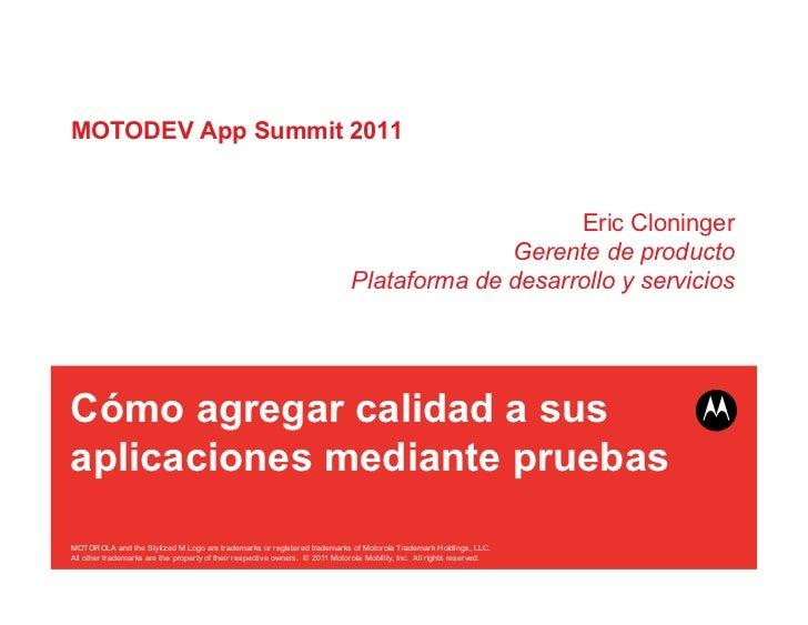 MOTODEV App Summit 2011                                                                                                  E...