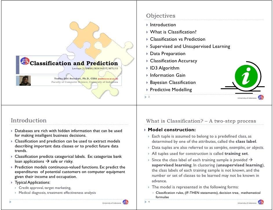 05   Classification And Prediction