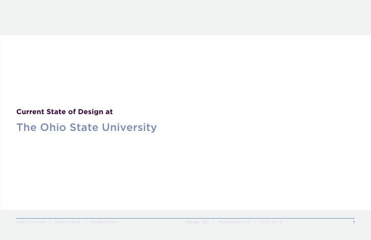 design at osu