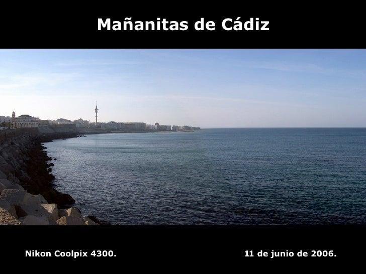 Mañanitas de Cádiz Nikon Coolpix 4300.  11 de junio de 2006.