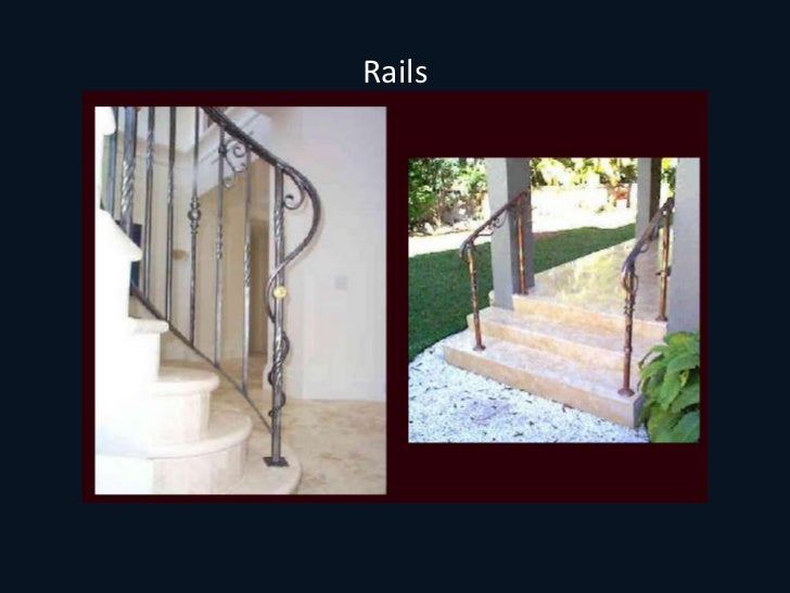 Rail Architectural Metal Work