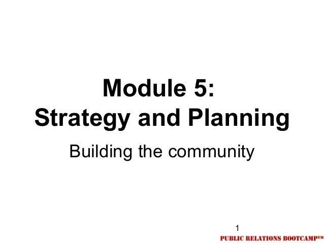05.Social media strategy