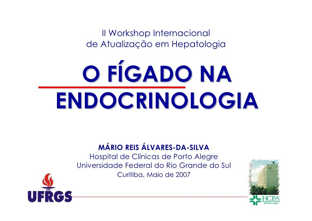 O Figado na Endocrinologia