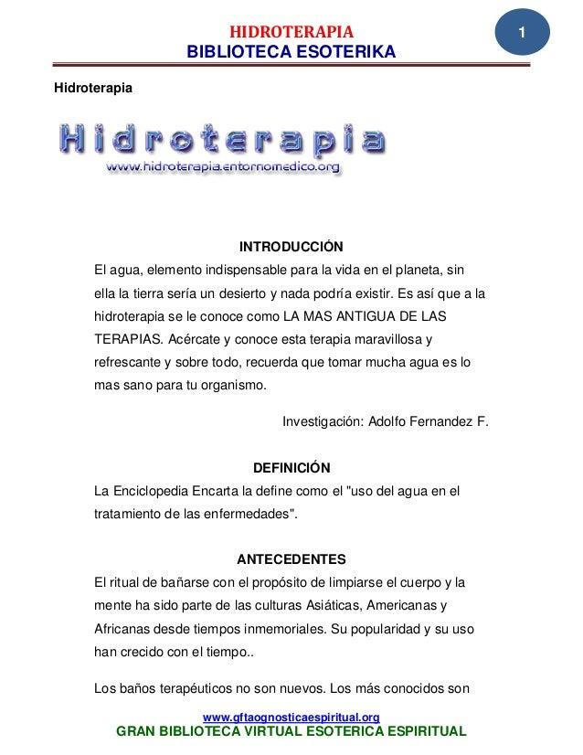 05 06 14 hidroterapia www.gftaognosticaespiritual.org