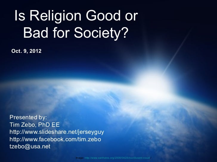 religion good or bad essay