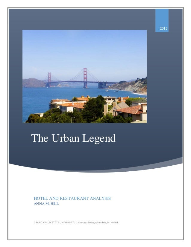 an analysis of urban legend Urban legends are an important part of popular culture, experts say, offering  insight into our fears and the state of society they're also good fun.