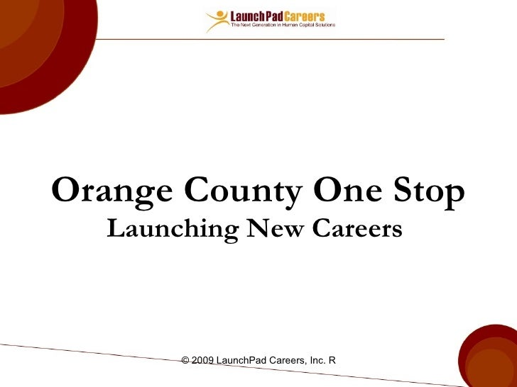 LaunchPad_OC One Stop Staff Training
