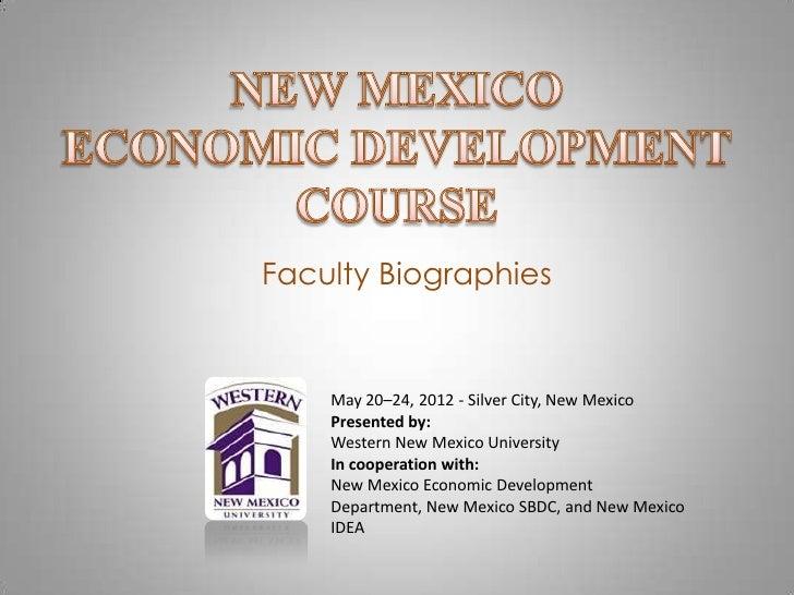 WNMU Economic Development Course