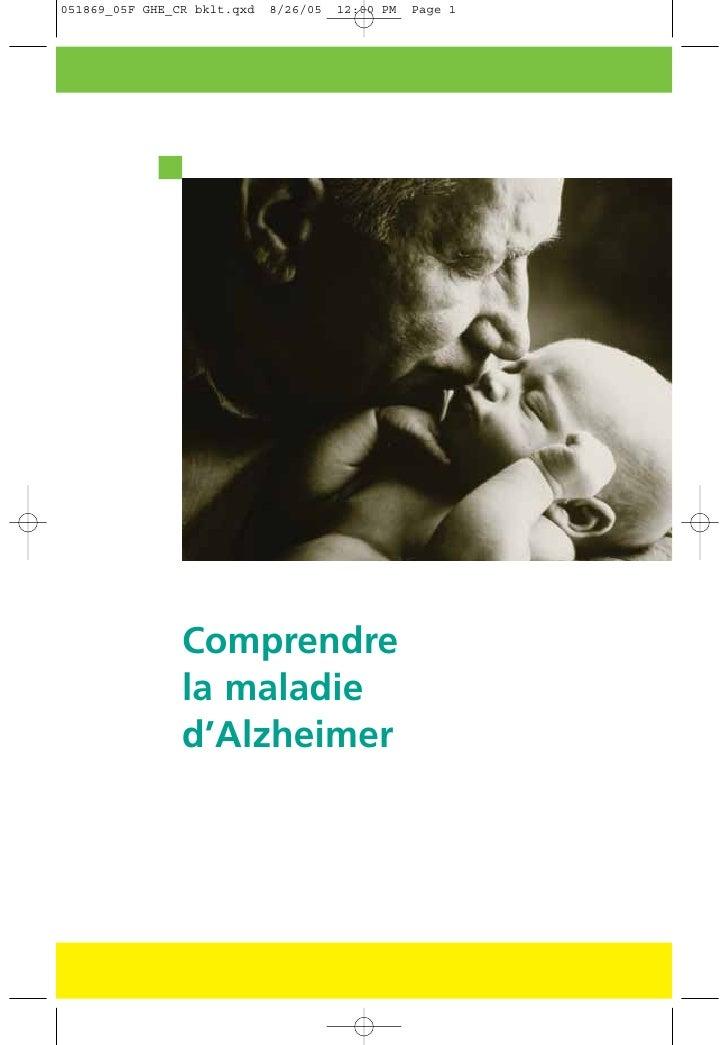 Comprendre la maladie d'Alzheimer