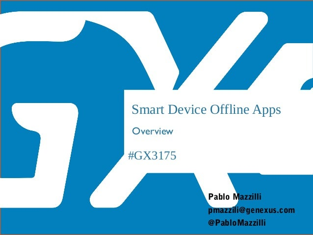Aplicacaciones offline para Smart Devices