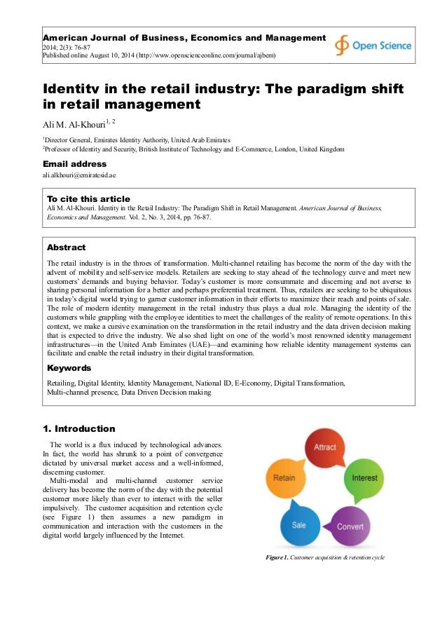 American Journal of Business, Economics and Management 2014; 2(3): 76-87 Published online August 10, 2014 (http://www.open...