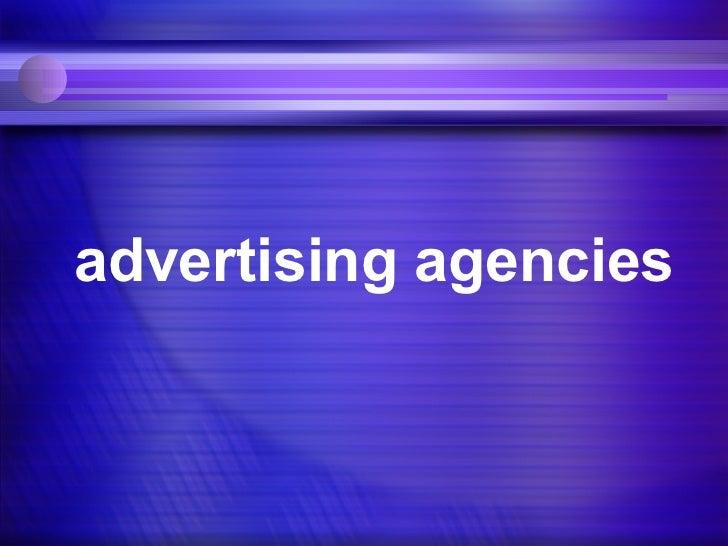 05 agencies
