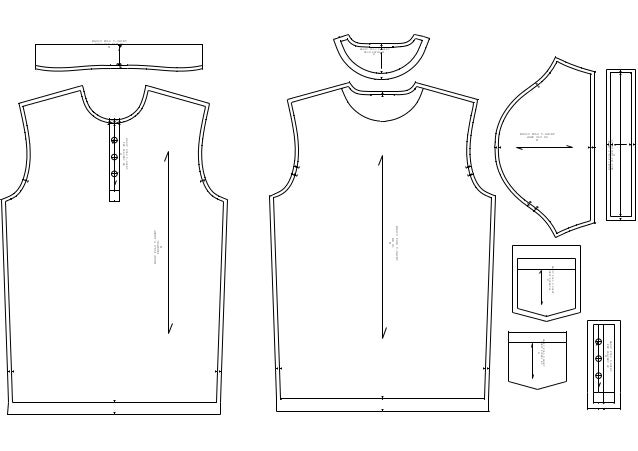 BASIC POLO T-SHIRT-PATTERN