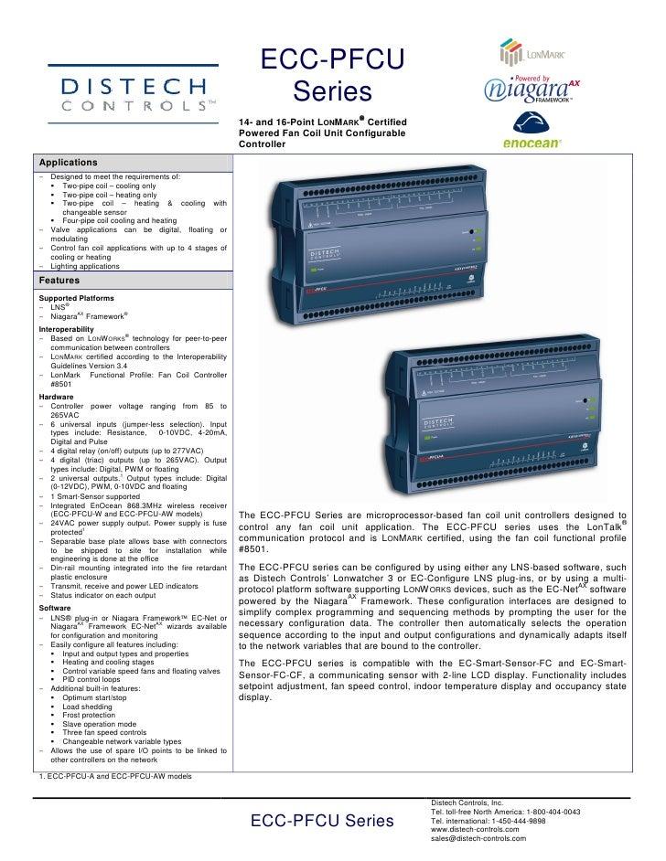BMS Uyumlu FCU-Klima-VAV-WSHP Kontrolör 05 di dspfcux-20