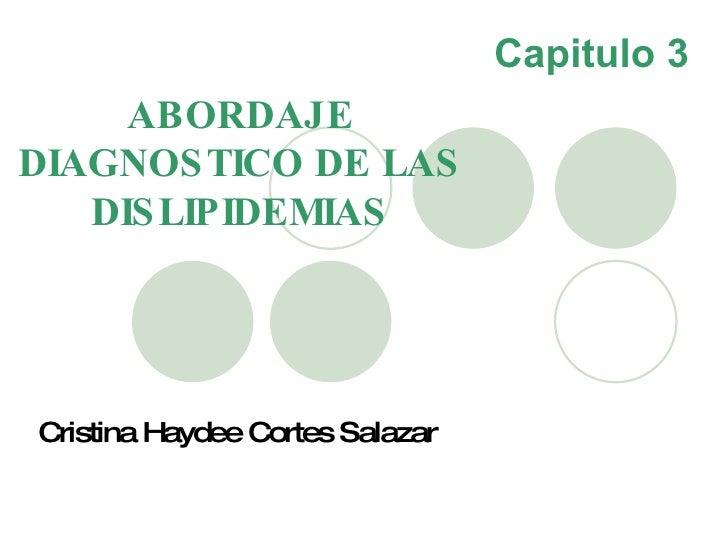 cardio 05 Dislipidemias Abordaje